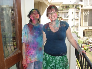 I happened to bump into the Indian Holi Holiday while co-locating