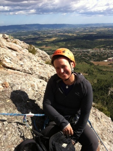 High up a multipitch route, where I feel, that I belong.