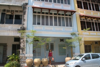 Penang, UNESCO heritage city center, where we rent an appartment for a few days